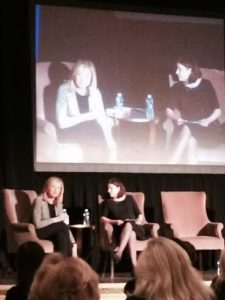 Arianna Huffington was interviewed by WHYY's Maiken Scott.