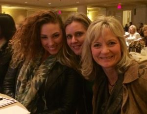From Left, Amanda McGranaghan, Me and Kari Gearhart