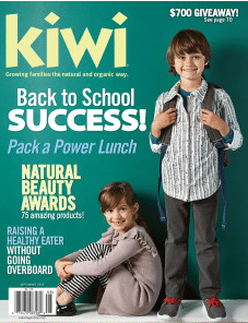 "Kiwi Magazine's ""Pack Lunch Like a Pro"""