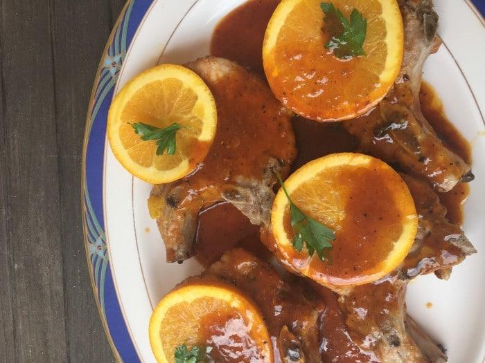Pork Chops a l'Orange - Recipe by Emma Fogt