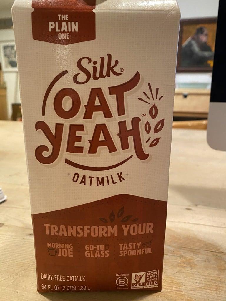 Oat Milk carton