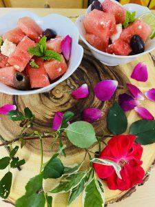 Mint & Feta Watermelon Summer Salad