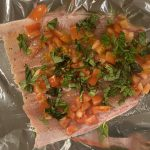 Rainbow Trout with Tomato & Basil Foil Packets