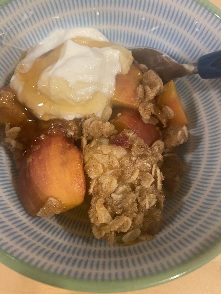 GF Peach Crisp